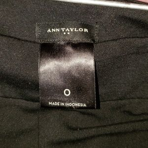 Ann Taylor black leggings